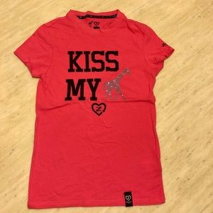 New Luxirie by LRG Kiss My Crystals T-shirt Size S